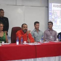 Alunos do Curso de Educação Física, participam de audiência pública da câmara legislativa em Águas Claras